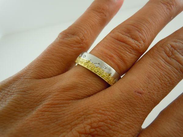 Yellow Canary Diamond Wedding Rings Image Of Ring Enta