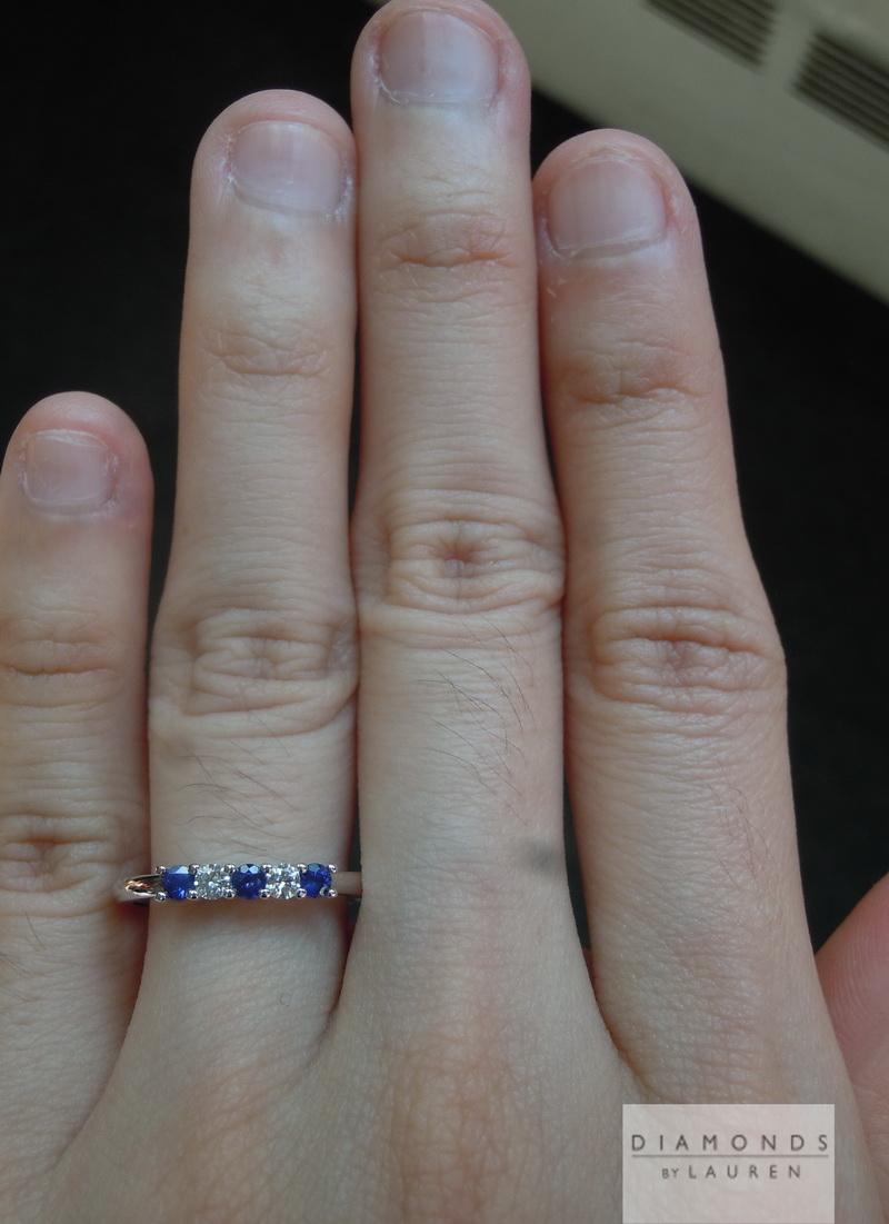 blue sapphire rings